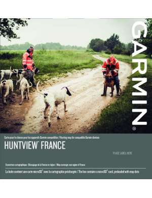 Carte Hunterview Garmin