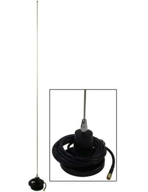 Supra antenne toit 80 cm flex black edition
